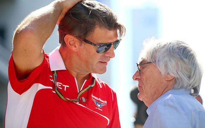 Marussia boss Graeme Lowdon