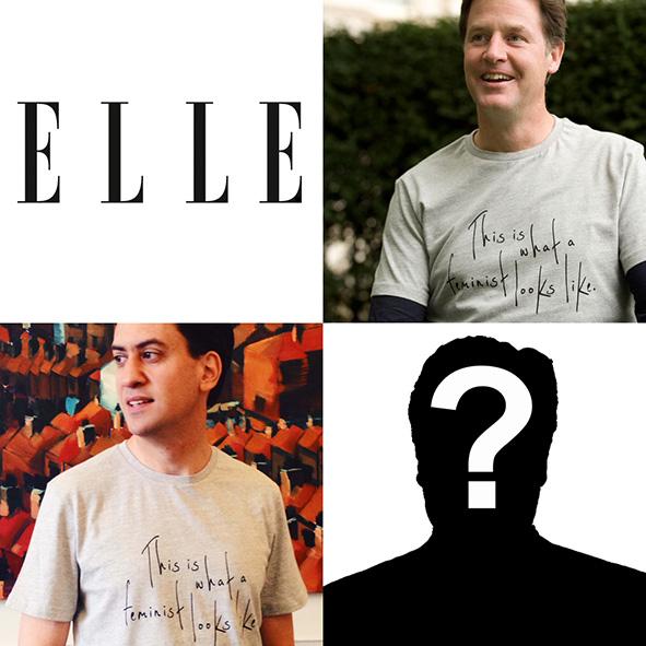 Elle feminist t-shirt