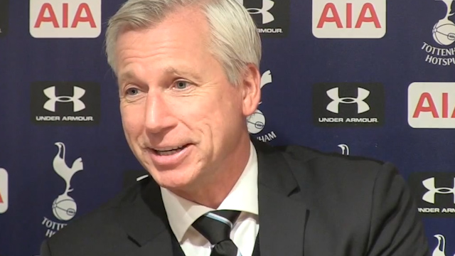 Pardew: Strong Words Turned Toon Around
