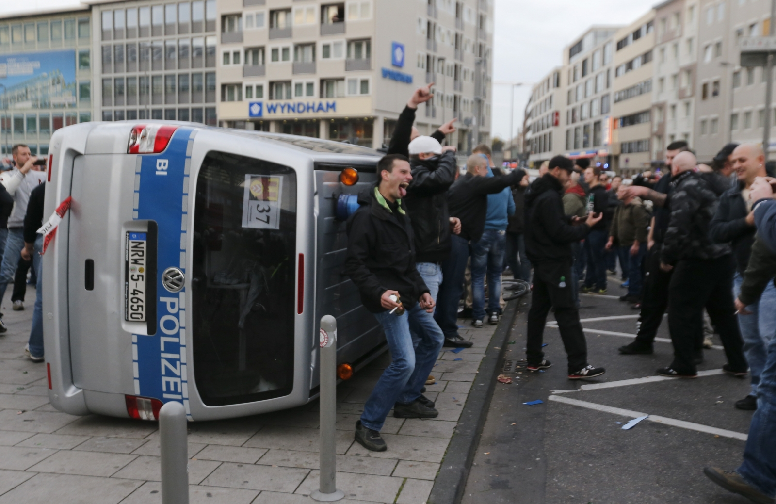 Cologne Germany protest ISIS