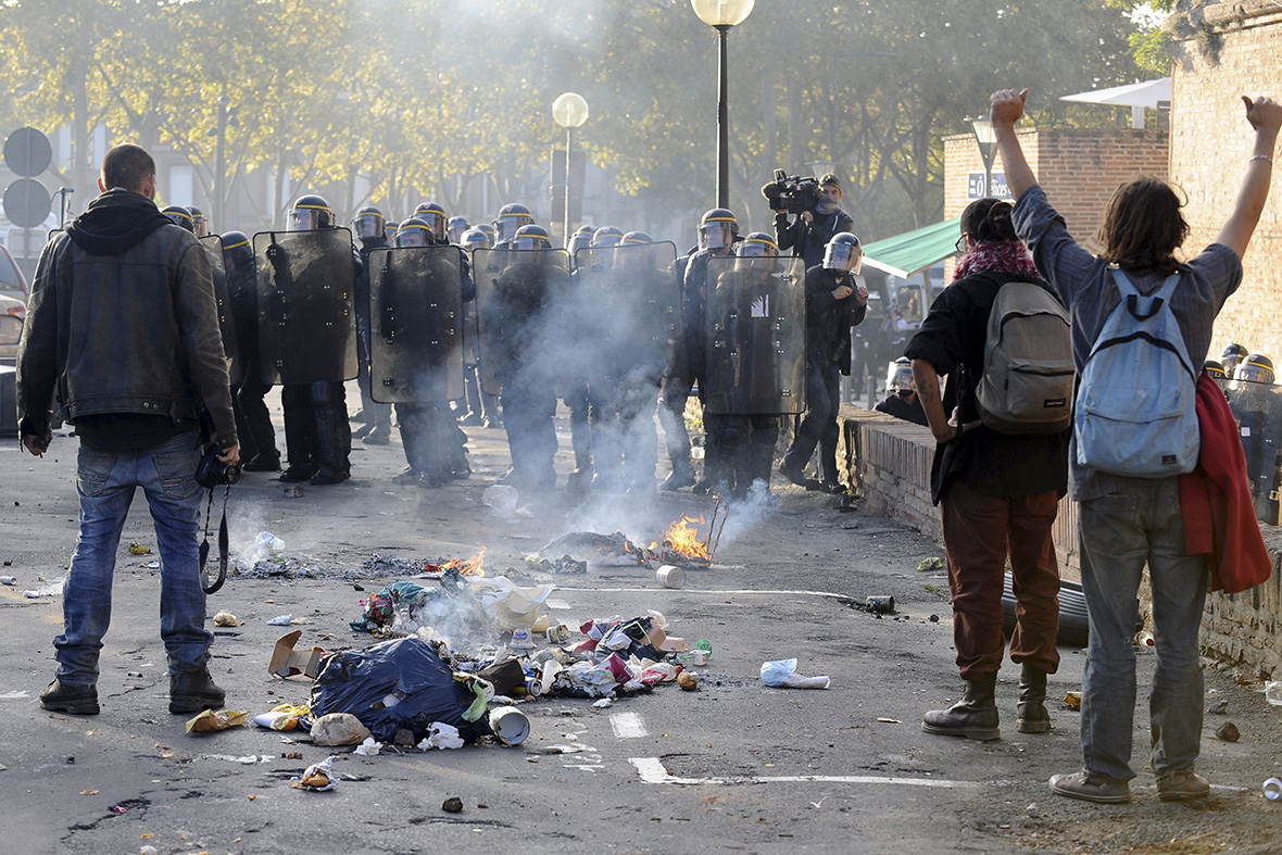 Sivens dam protest