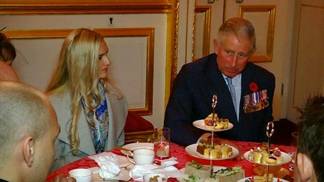 Prince Charles Hosts War Heroes in London
