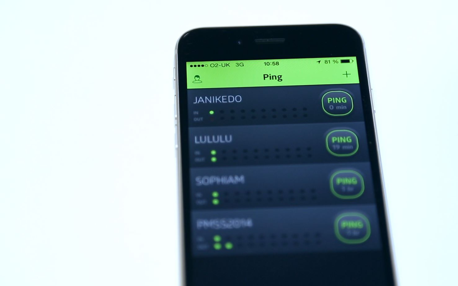 Tech Talk: Ping - The Smartphone App That Communicates Without Words