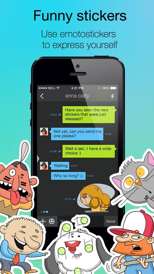 Ping Smartphone messaging app