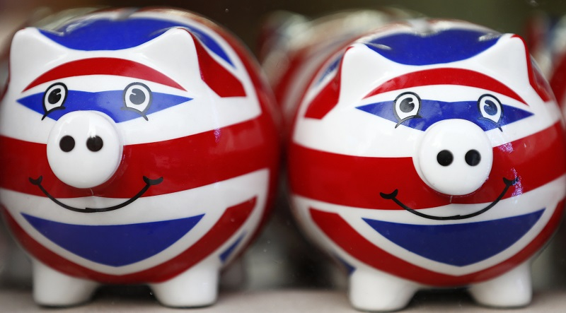 Union Jack Piggy Bank