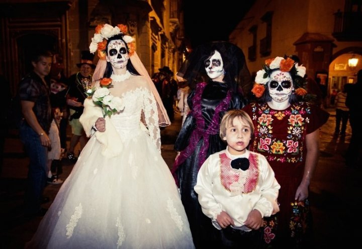 Day of the dead Halloween mexico