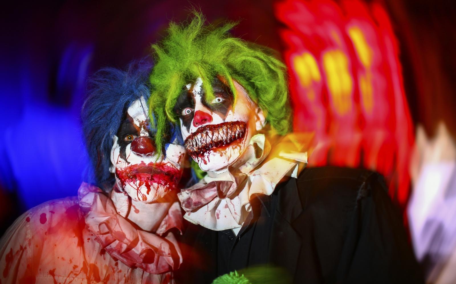 horror clown Evil France