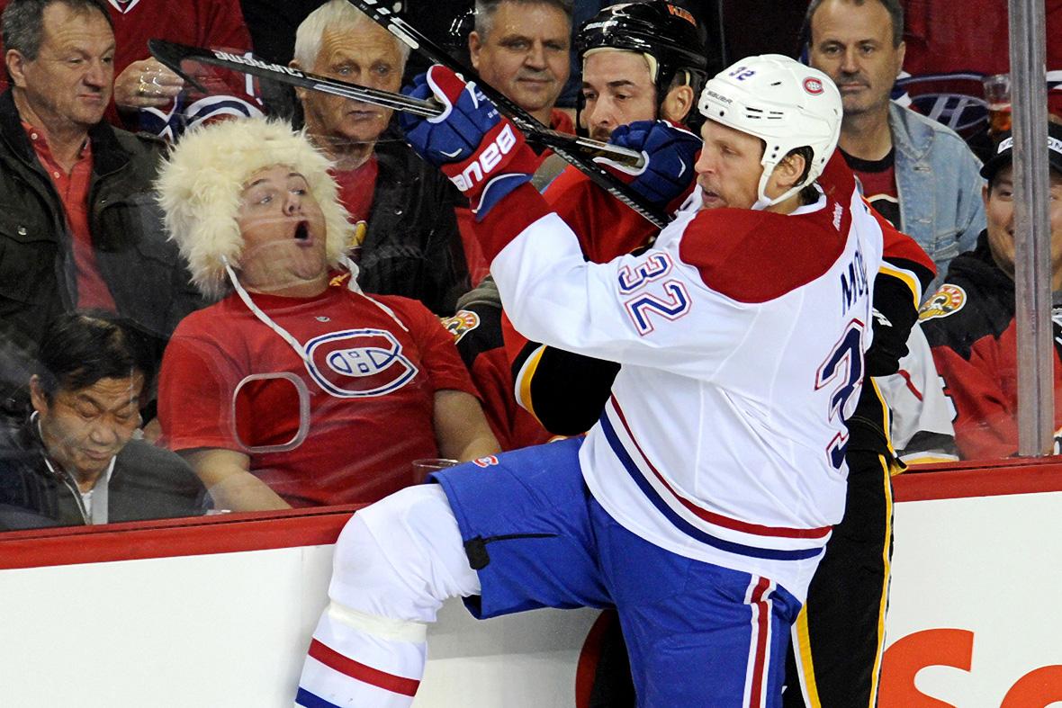 hockey face