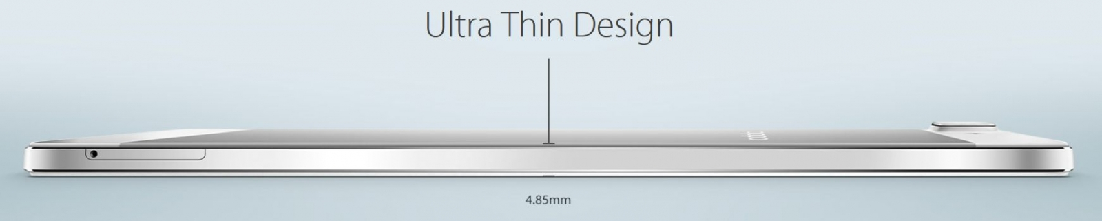 The Oppo R5 is the world's thinnest smartphone at just 4.85mm