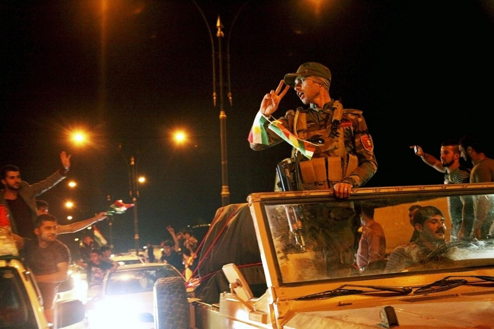 150 Iraqi Peshmerga Fighters Travelling to Syria to Fight Isis