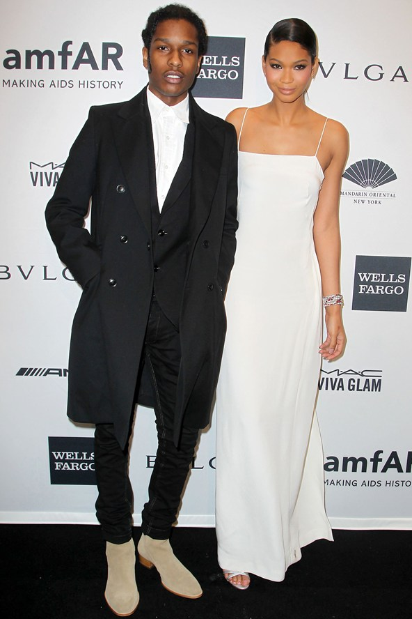 A$AP Rocky And Chanel Iman To Appear in 'Vogue' September ...