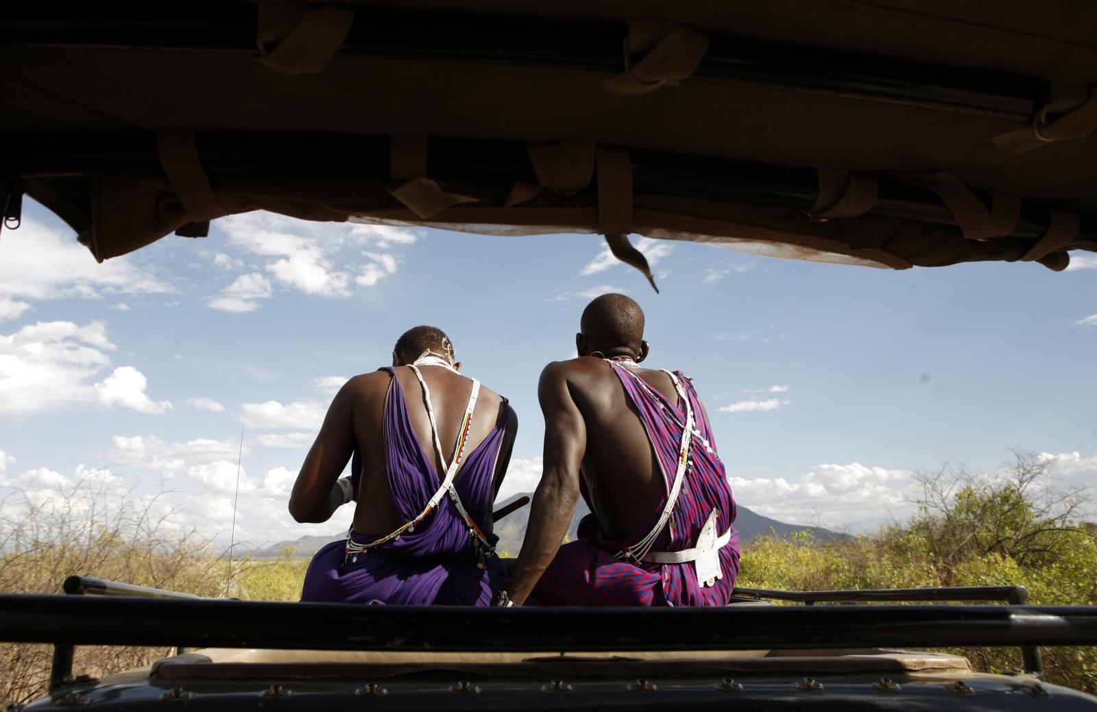 Kenya safari Maasai
