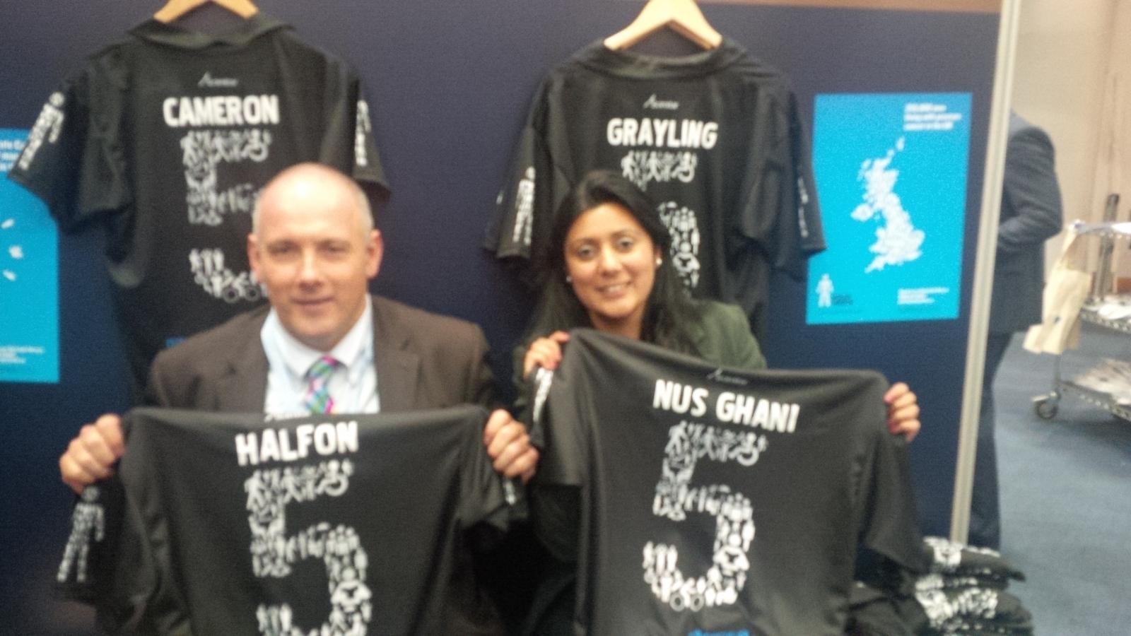 Nus Ghani and Rob Halfon MP