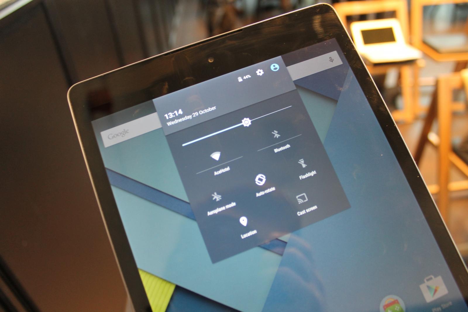 Nexus 9 Hands-On Rreview