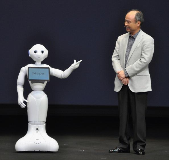 SoftBank humanoid robot