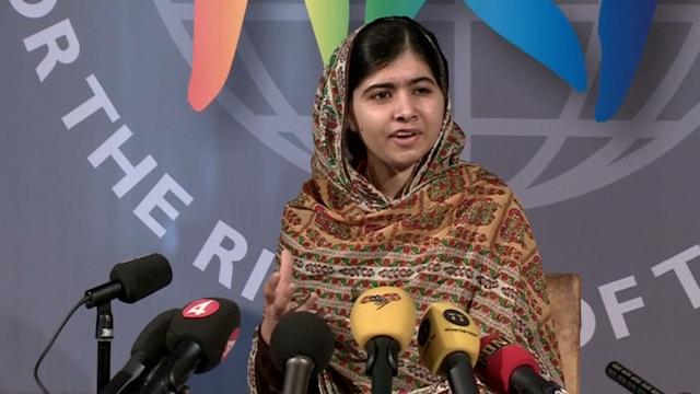 Malala Yousafzai Receives World's Children's Prize