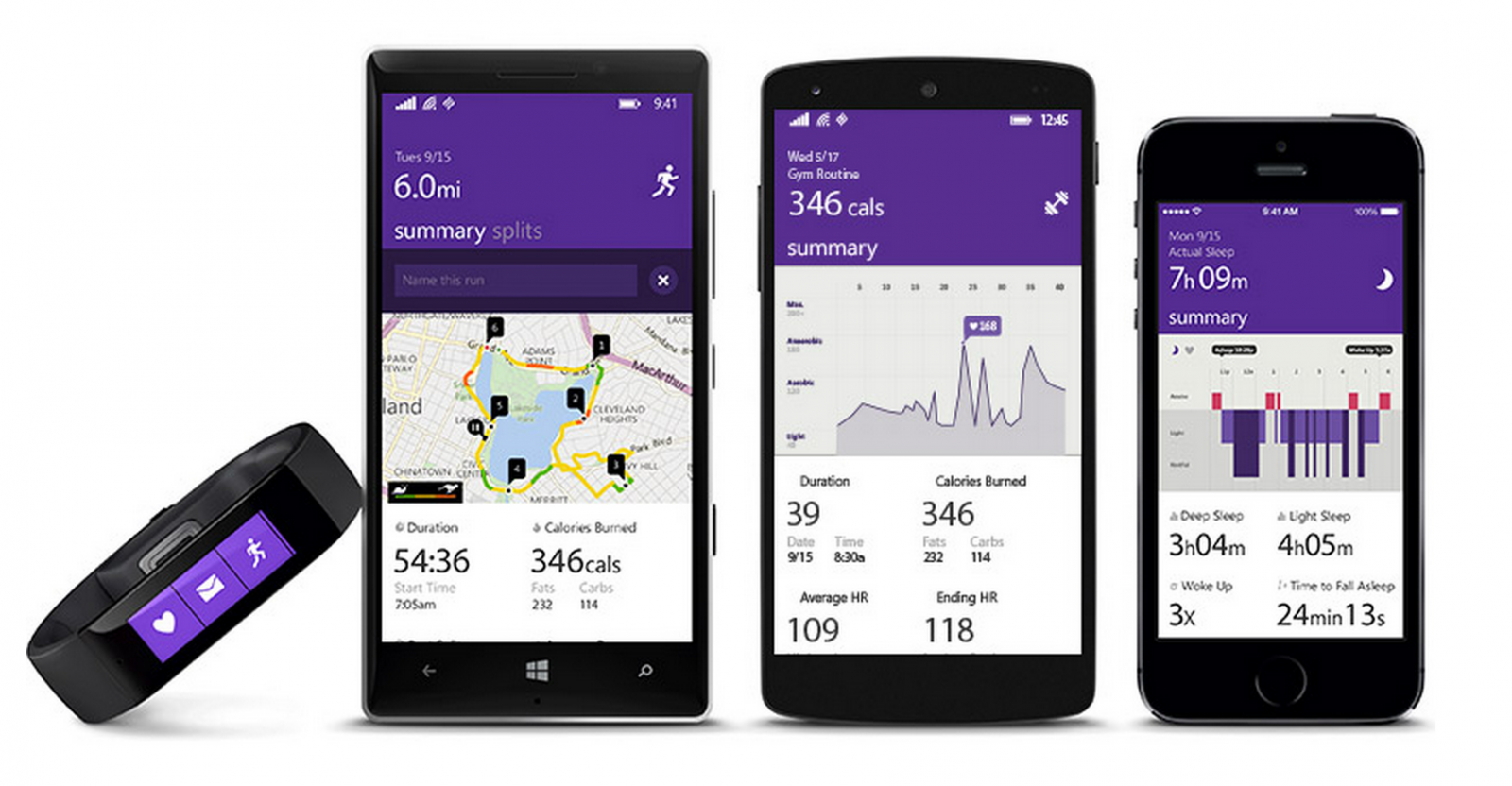 Microsoft Band comes to UK costing £170