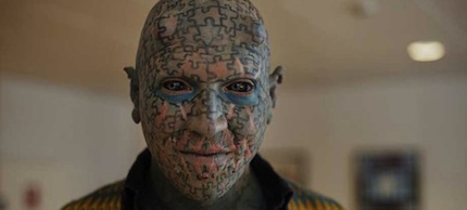 Jim Rose tattooed man