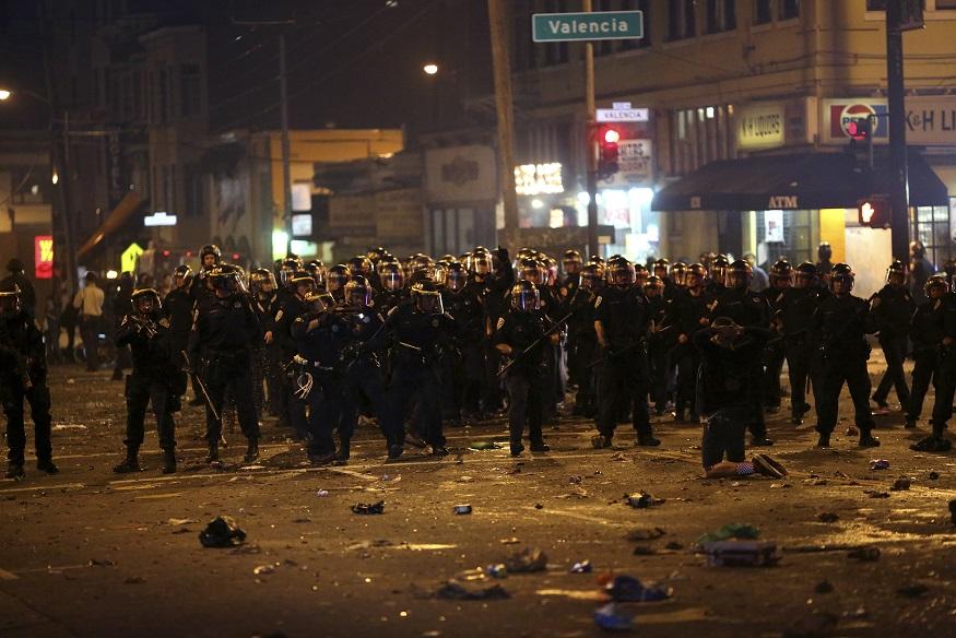 San Francisco Riot Police