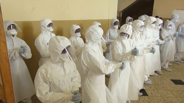 British Military Trains Local Youth to Fight Ebola in Sierra Leone