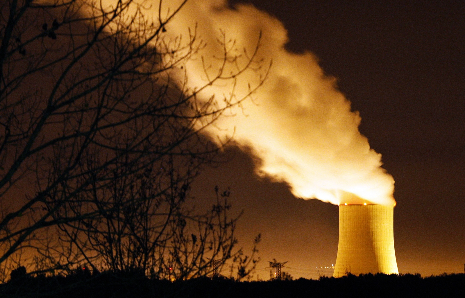France Nuclear Plants Drones