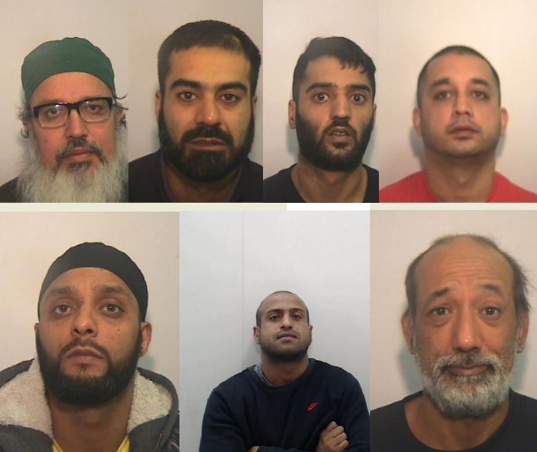 Muslim Manchester gang