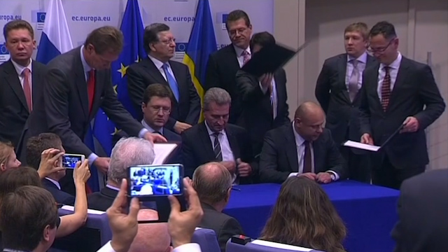 Ukraine, Russia, EU Agree to Natural Gas Supply Deal
