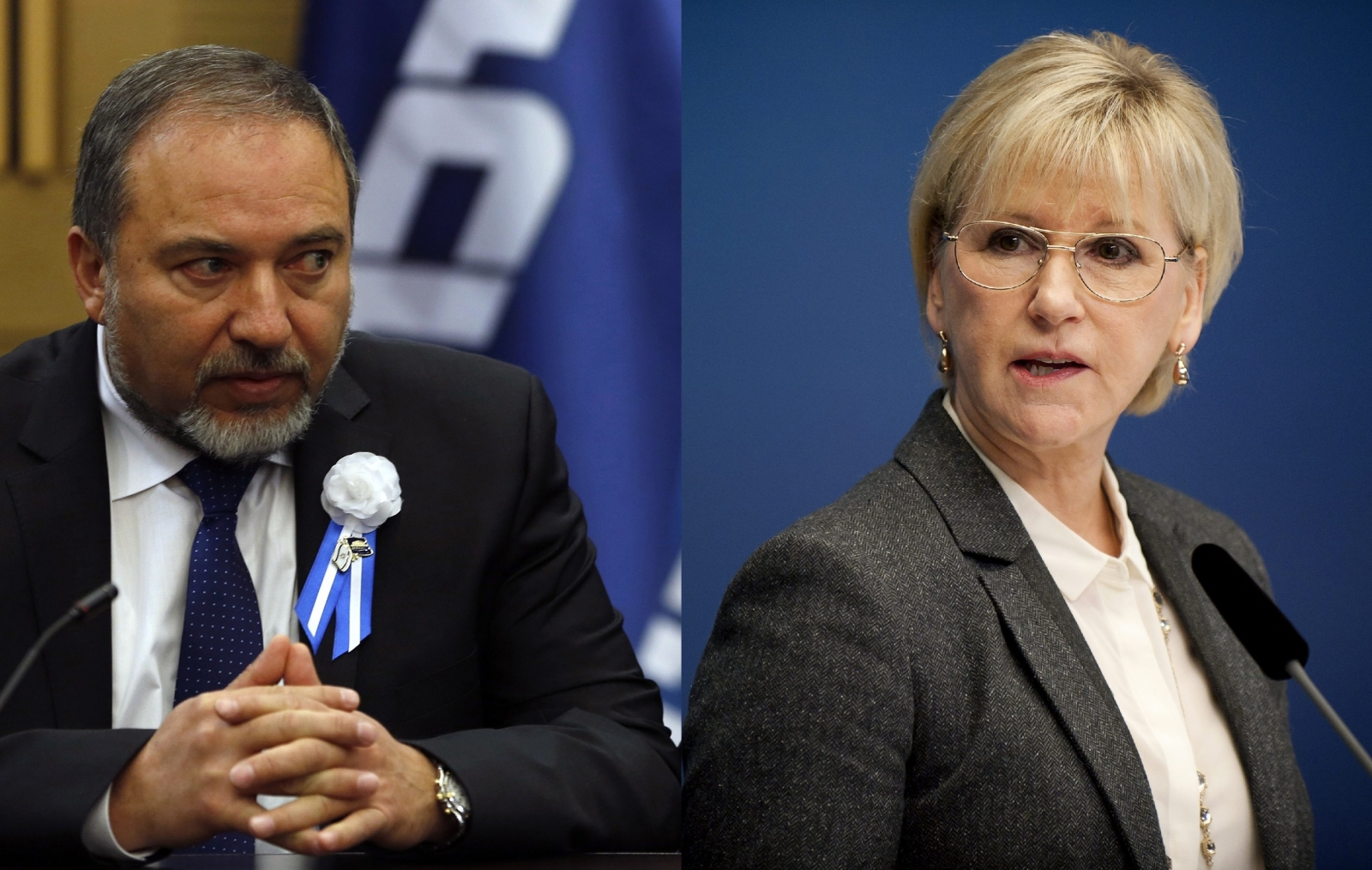 Avigdor Lieberman Margot Wallstrom