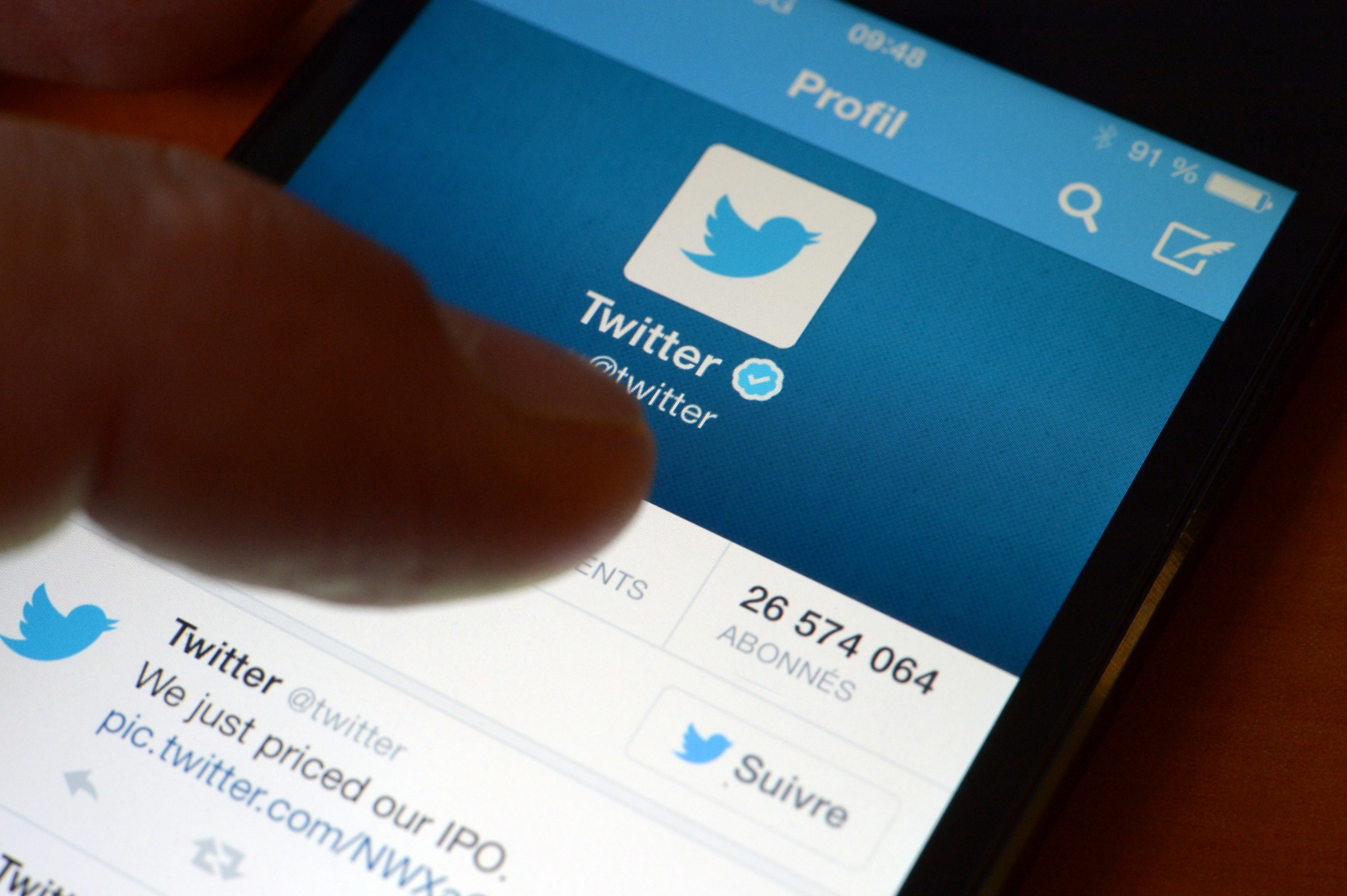 Twitter signs search results deal with Google