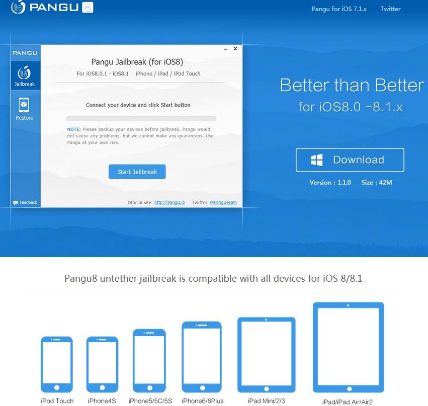 Pangu8 1.1.0