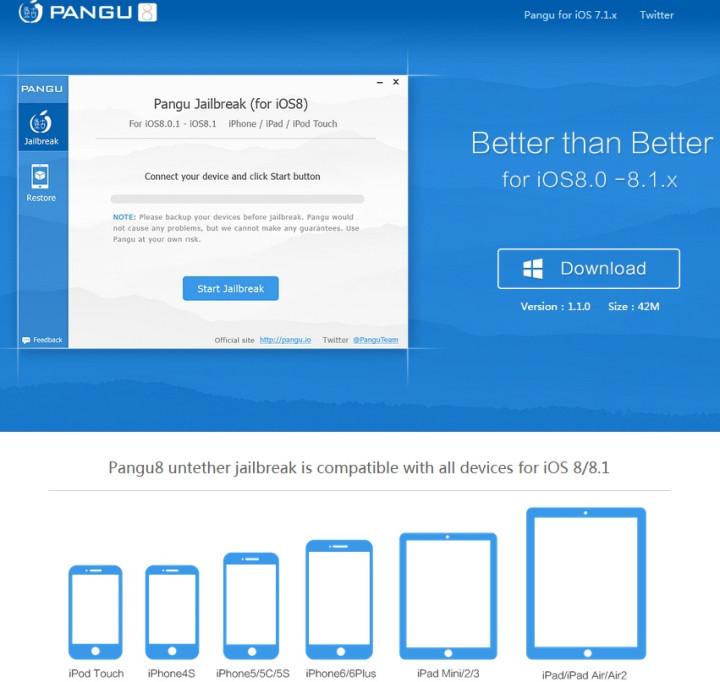 Pangu8 1 1 0 Untethered Jailbreak: How to Jailbreak iOS 8