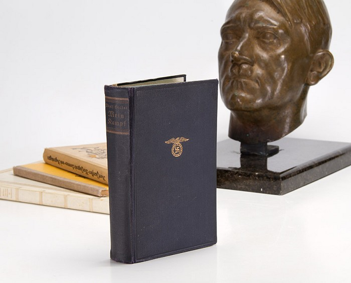 Hitler's personal copy of Mein Kampf is expected to sell for £64,000 (History Hunter)