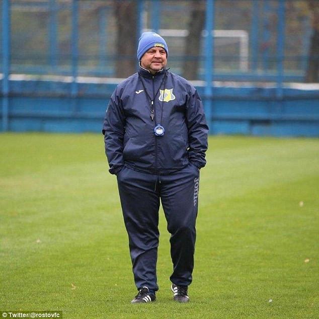 Igor Gamula, who claimed his club FC Rostov already has enough black players (Twitter)