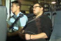 Rurik Jutting in court for Hong Kong double murder