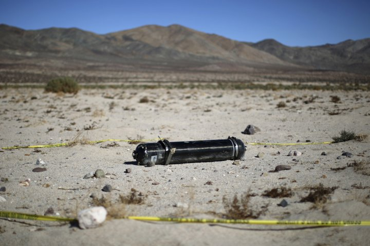 Virgin Galactic spaceship crash
