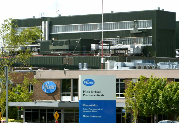 The Pfizer plant in Ringaskiddy
