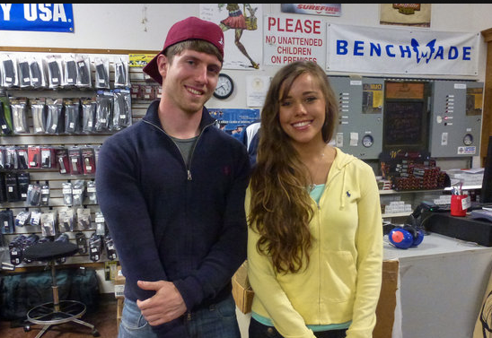19 Kids And Counting S Jessa Duggar And Ben Seewald Wedding