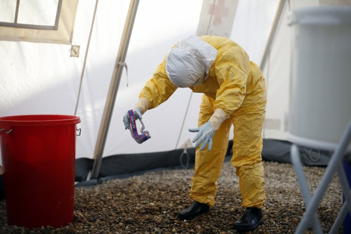 EBOLA DECONTAMINANT