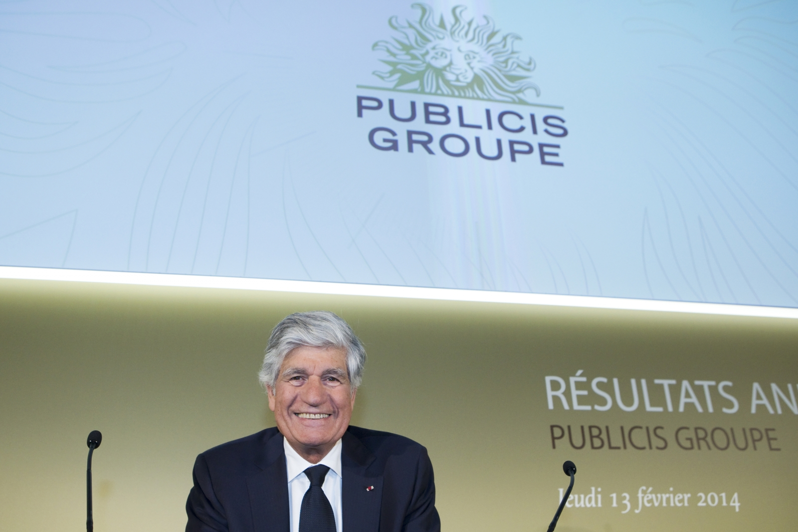 Maurice Levy, Chairman and Chief Executive Officer of Publicis Groupe