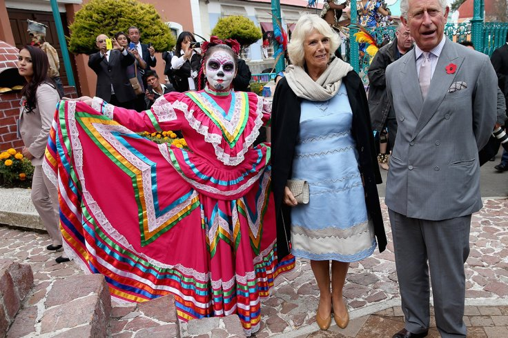 day of the dead mexico prince charles camilla