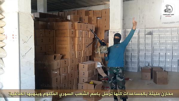 Jabhat al-Nusra Syria SRF