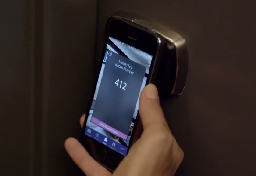 Starwood smartphone room lock