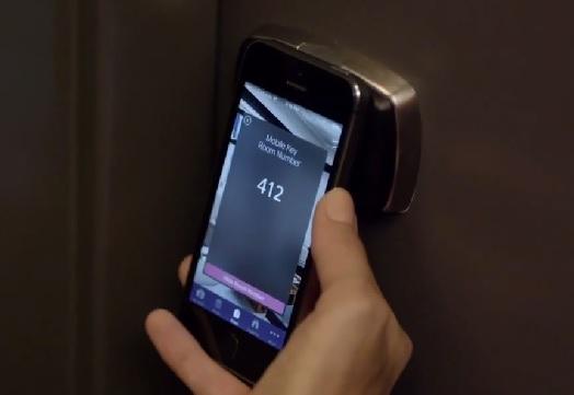 Starwood smartphone room lock