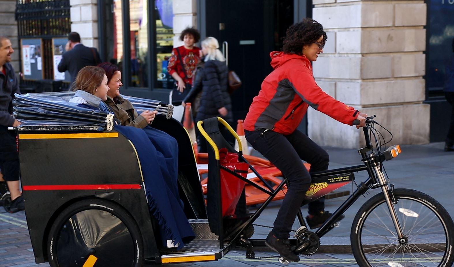 Rickshaws: A Scourge of London's Streets?