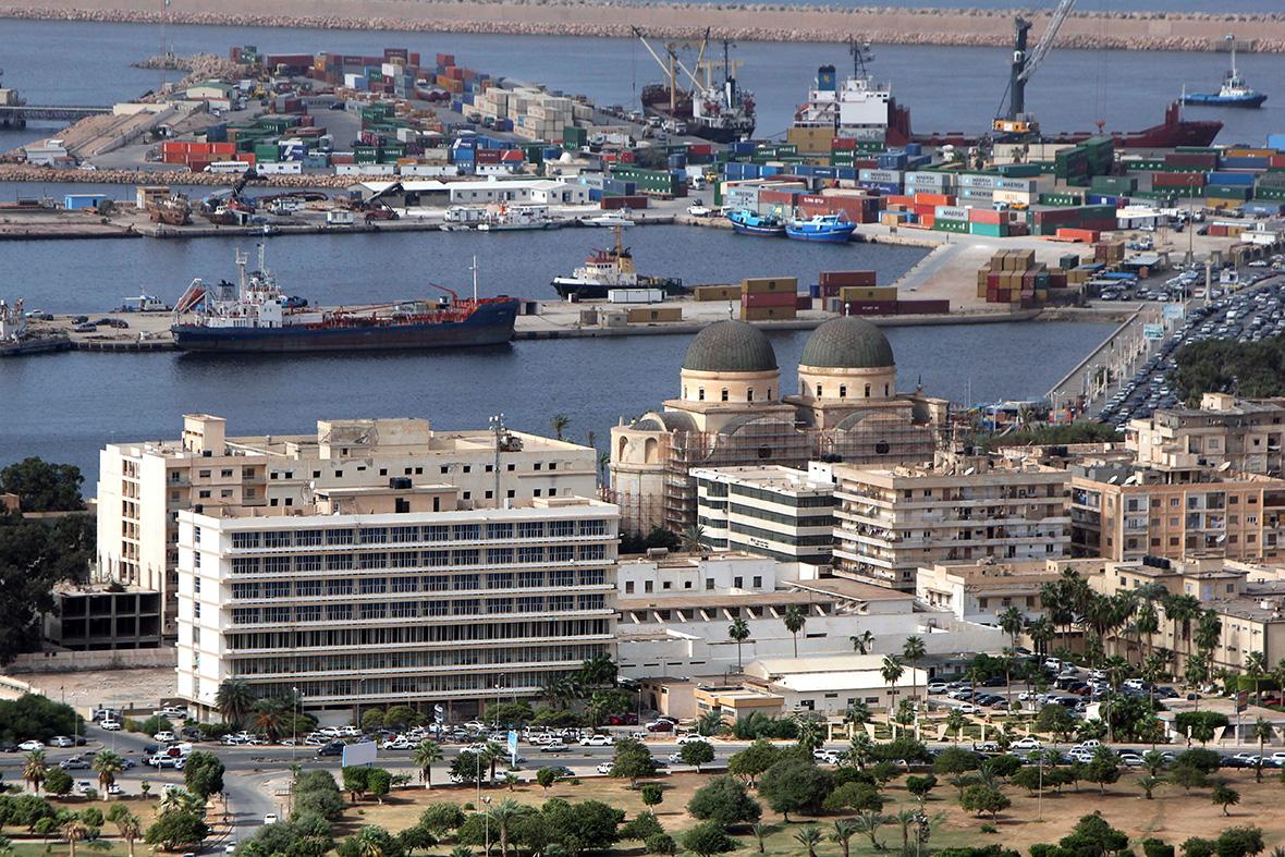 Benghazi port