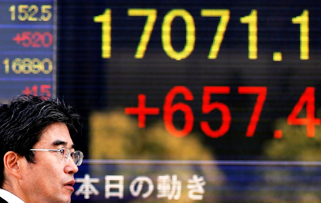 Japan's Nikkei 225 Hits Seven-Year High on 4 November
