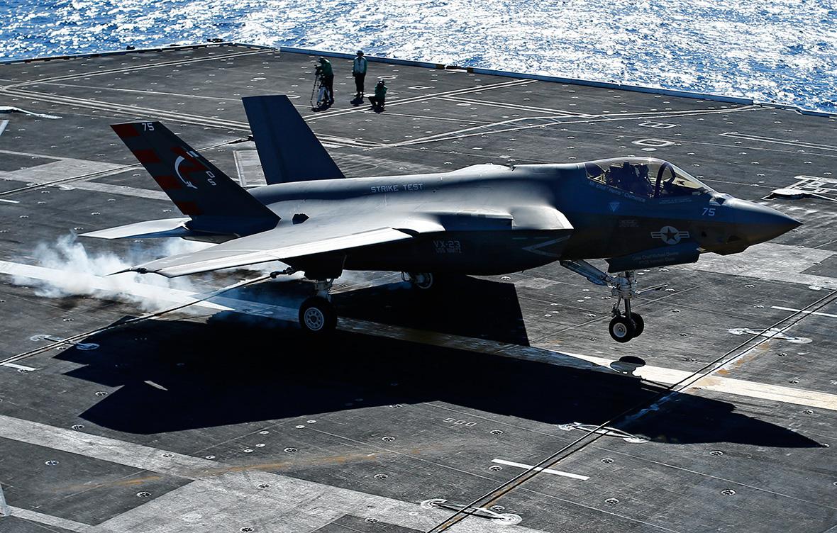 Trump to scrap F-35 jet project? UK's new £6.2bn fleet may ...