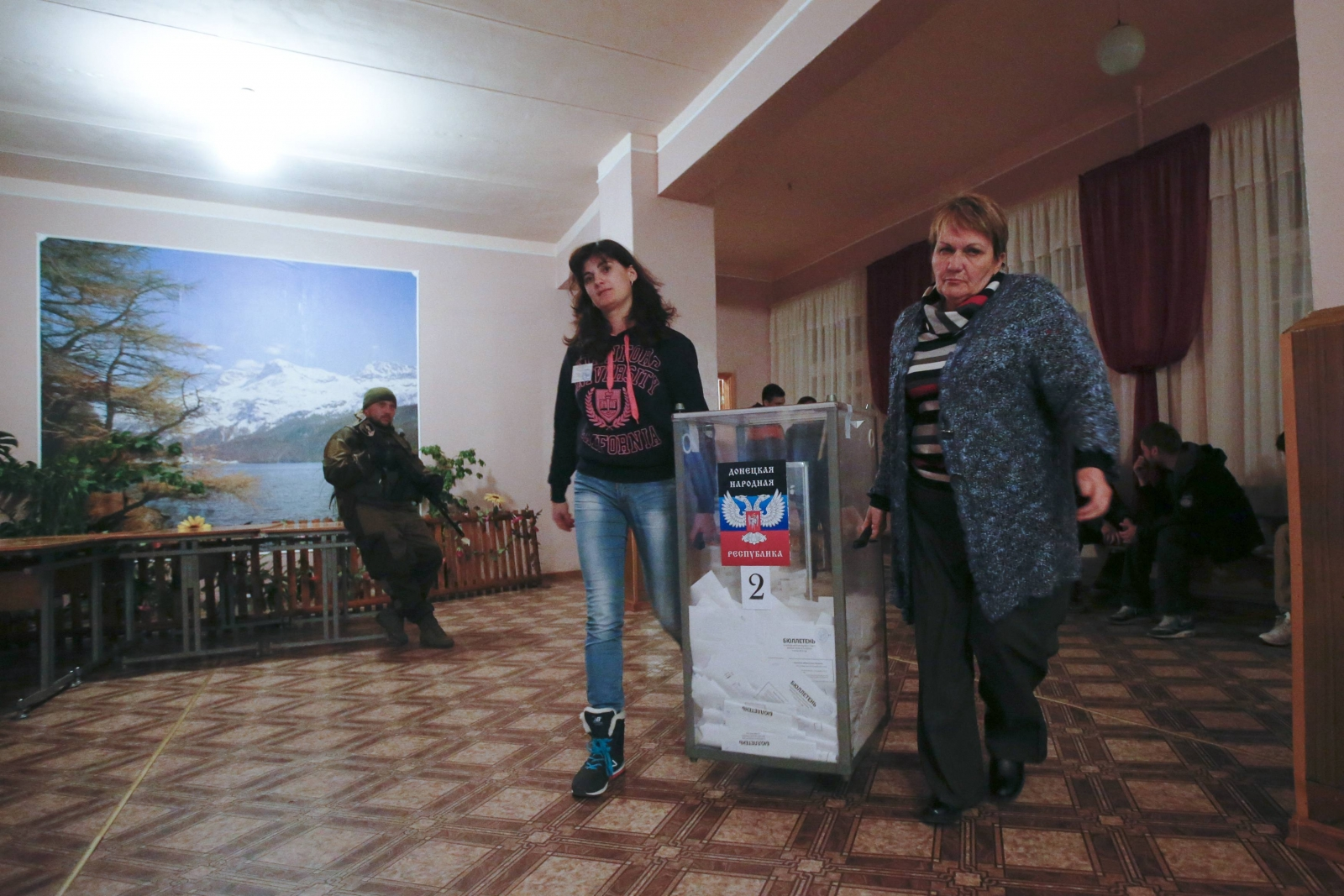 US Condemns Eastern Ukraine Elections as Illegal