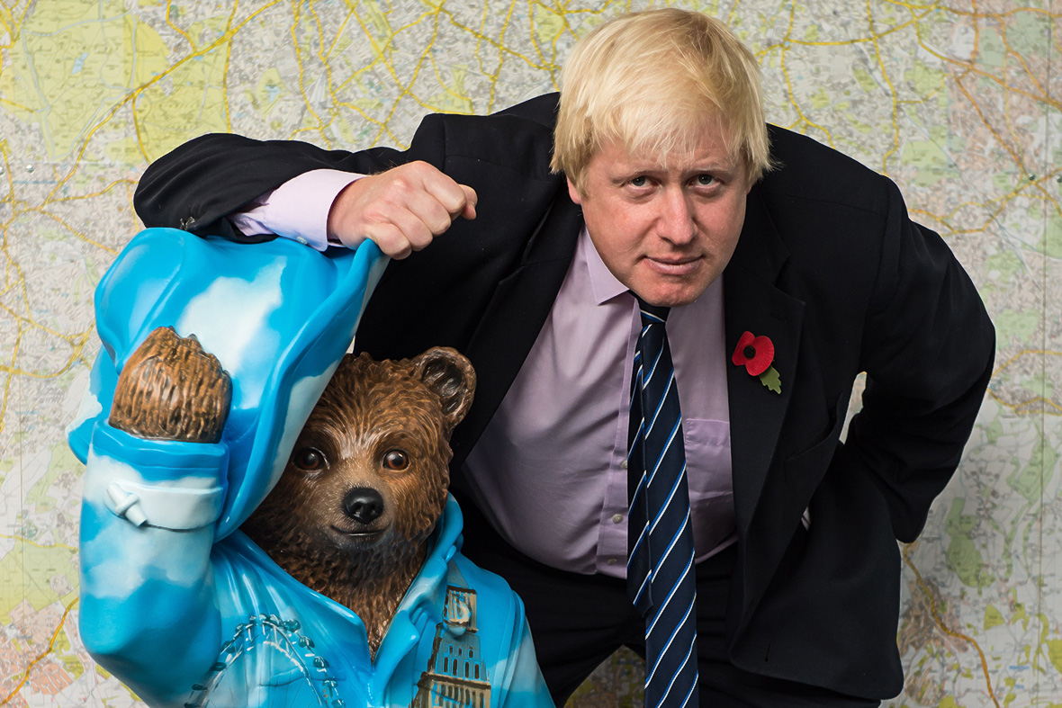 boris johnson bear