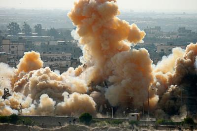 gaza blast